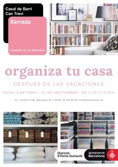 Organiza tu casa-Casal Can Travi